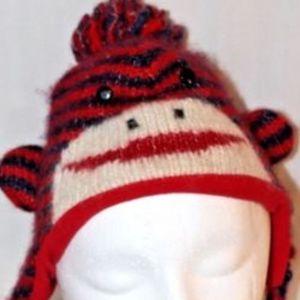 Delux Toddler Monkey Hat Size Medium/Large Kids